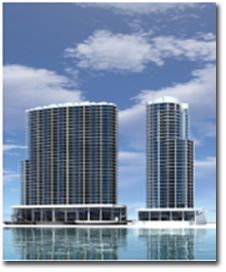Rendering of Grace and Acsension from the South in Orange Beach AL